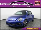 2013 Volkswagen Beetle New 20T Convertible Turbo FWD Off Lease Only Reef Blue Metallic 2013 VolkswagenBeetle20T Convertible Turbo FW