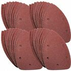 40 Pcs Mouse Sanding Sheets Detail Sander Detailed Hook and loop backing Sheets