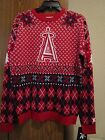 LOS ANGELES ANGELS MLB UGLY CHRISTMAS SWEATER SIZE: 2XL NWT