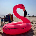 Inflatable Flamingo Pool Tube Beach Lounger Float Swimming Water Toy