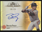 2014 Topps Tribute Buster Posey Gold Autograph 15