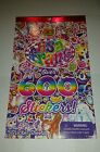LISA FRANK Over 600 Stickers 5 Sticker Sheets Kids BRAND NEW AGES 3+