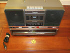 RARE Panasonic SG-J500 Boombox Radio W/ Record Player / Cassette FULLY WORKING