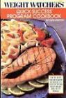 Weight Watchers Quick Success Program Cookbook by Jean T Nidetch