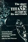 The Story of the Titanic As Told by Its Survivors (Dover Maritime) by Winocour,