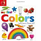 Tabbed Board Books My First Colors Lets Learn Them All Tab Board Books by
