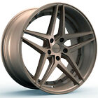 4 NEW ROSSO 701 REACTIV 20x85 5x120 +38mm Bronze Wheels Rims