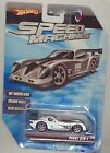 Hot Wheels 2009 Speed Machines SILVER Panoz GTR 1 Red Line 164 Scale