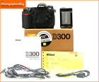 Nikon D300 Digital 12MP SLR Camera BodyBatteryCharger Free UK Post