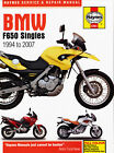 BMW F650 Singles Haynes 4761 Repair Manual  all models from 1994 thru 2007