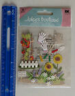 New Pack Jolees Boutique GARDENING Dimensional Sticker Package
