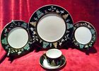 Fitz and Floyd Chinoiserie 5 piece place setting