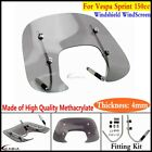 Windscreen Windshield Tint Flyscreen With Fitting Fits Vespa Sprint 150cc Smoke