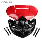 Motorcycle Enduro Headlight Fairing Alien For Honda CB200 XR125L CRF100F Red New