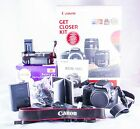 Canon EOS 100D 180MP Digital SLR Camera Black Body Only with extras