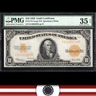 1922 $10 GOLD Certificate Large Bank Note  Fr 1173 PMG Choice 35 EPQ  K16085028