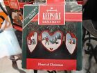 HALLMARK...HEART OF CHRISTMAS 2ND. IN SERIES...ORNAMENT..1991
