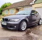 LARGER PHOTOS: 2008 (08) BMW 120d M SPORT 2dr COUPE - RED LEATHER - LOW MILEAGE - 2 Owners