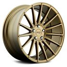 19x85 NICHE Wheels +35  5x1143  726 FORM Rims Bronze Set of 4