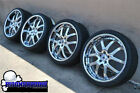 ASANTI AF 150 ELT150 22 CHROME WHEELS BMW 7 SERIES 745 750 NEW TIRES FORGIATO