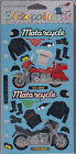 Stickopotamus Motorcycle Riding theme binder stickers new sealed