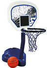 SwimWays Poolside Basketball Hoop Pool Water Game Set with Ball Open Box