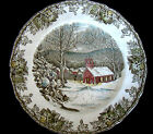 "Johnson Brothers Friendly Village Dinner Plate 9 7/8ths"" Made in England"