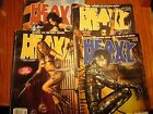 Heavy Metal Magazine lot of 4 from 2004