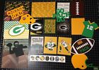 Green Bay Packers Football Scrapbook Kit paper cards die cuts Project Life