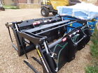 NEW STRIMECH 7FT6 WIDE MUCK GRABS WITH BRACKETS AND PIPES FITS FORK LIFT TRACTOR