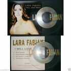 Lara Fabian - I Will Love Again Asia 4-track Promo CD card sleeve