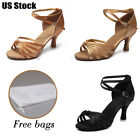 Brand New Ballroom heeled Latin Dance Shoes for Women Ladies Girls Tango