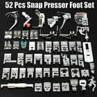 52pcs Multi Domestic Sewing Machine Foot Presser Feet For Brother Singer Janome