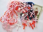 Wholesale Lot of 12 Plastic Rosaries in Mixed Colors Great Gifts