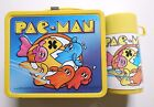 Vintage 1980 Pac Man Lunch Box with Thermos Excellent Condition