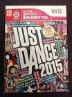 Just Dance 2015 Nintendo Wii Box ONLY Target Edition