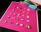 Origami Owl Rare & HTF Charms: Pink Sunglassees and Mixer, Topper Penguin + more