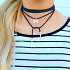 Michigan Wolverines From The Heart Womens Fth 2017 Suede Wrap Choker Jewelry