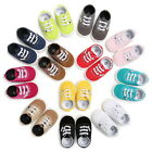 USA Infant Toddler Baby Boy Girl Soft Sole Crib Shoes Anti Slip Sneaker 0 18M
