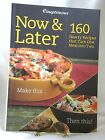 WEIGHT WATCHERS NOW  LATER 160 HEARTY RECIPES TRADE PAPERBACK 2009 ICP 11175