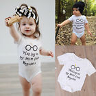 2017 Newborn Baby Boy Girls Cotton Romper Clothes Outfits Harry Potter Bodysuit