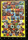AVENGERS BY MARVEL THOR HULK IRON MAN  MORE SHEET BEAUTIFUL STICKERS HERO07