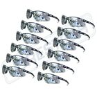 SAFETY GLASSES 352 LENS SPORT WORK EYEWEAR 12 PAIR Z871 New