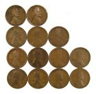 Lot of 26 1915 P 1c Lincoln Wheat Cent Pennies G Good Medium Blemishes #111228