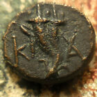 VF+ Rev on this CARIA. Kaunos 191-166 BC Filleted double cornucopia; K to left,