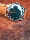 Zenith Gents Manual-Wind Rare Emerald Green Dial Vintage