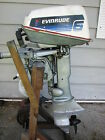 outboard motor 6 hp Evinrude Johnson lower unit prop engine shifter stuck