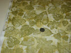 BENARTEX quilt craft fabric Sunflower Fields GILDED LEAF cream 2 yds 5625m 07