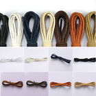 New Style Round Waxed Dress Shoelaces Shoes Strings Boot Sport Shoe Lace Cord US