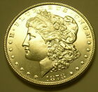 1878 Morgan Dollar 8/7 Tail Feathers DTF  UNC details